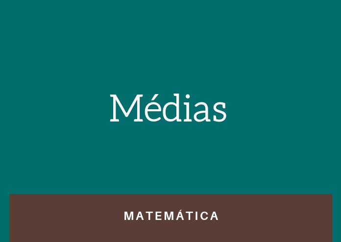 Simulado 2 – Médias