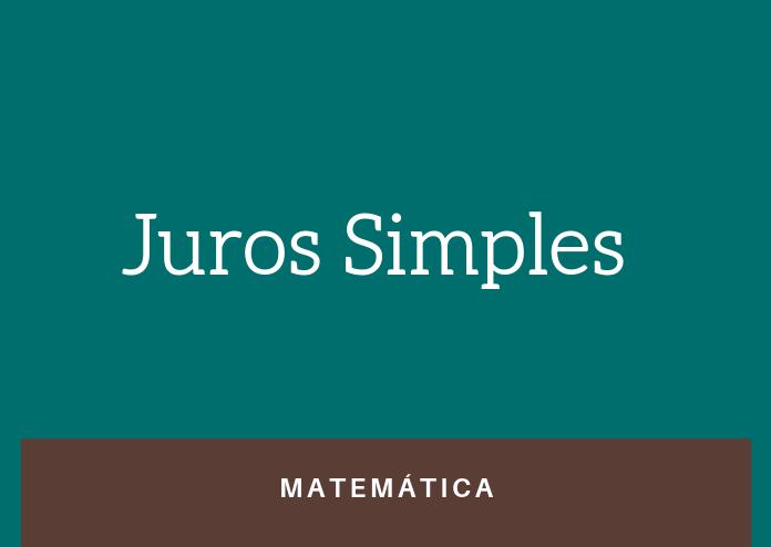 Simulado 3 – Juros Simples