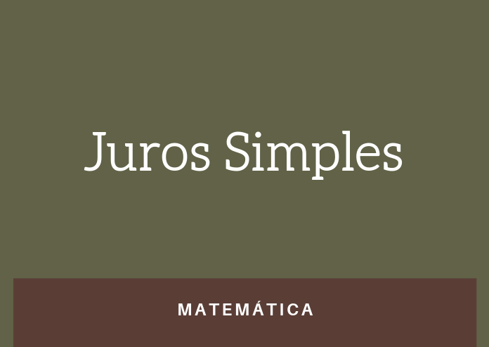 Simulado 1 – Juros Simples