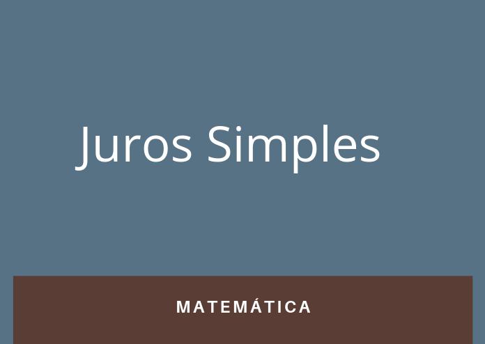 Simulado 2 – Juros Simples