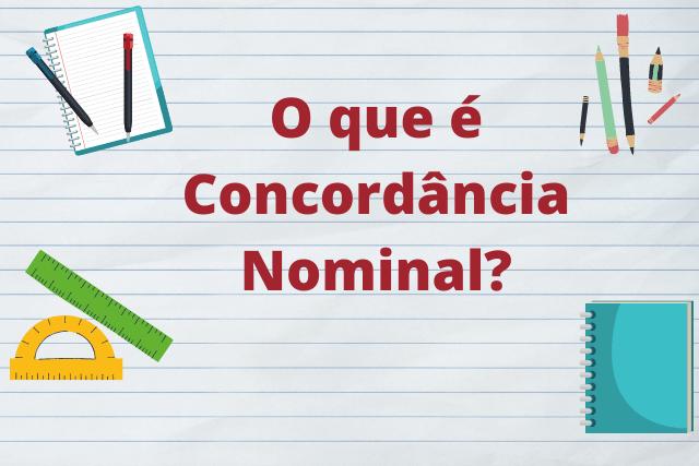 O que é concordância nominal?